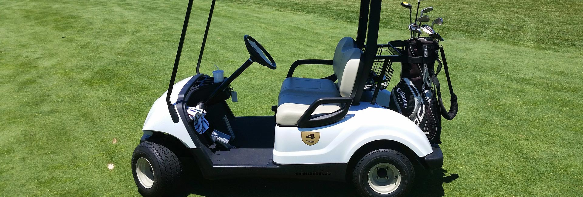 Elektro-Auto für Golfplatz von Gert Kaufmann